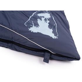 Grüezi-Bag Biopod Wool Murmeltier Comfort Makuupussi XXL, Herukka, night blue